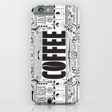 Coffee infographic poster iPhone 6s Slim Case