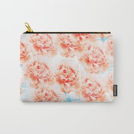 Abstract floral pattern 5 Carry-All Pouch