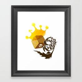 The Chestnut King Framed Art Print