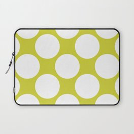 Polka Dots Green Laptop Sleeve