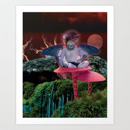 Bad Fairy Art Print
