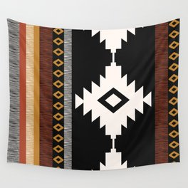 Pueblo in Sienna Wall Tapestry