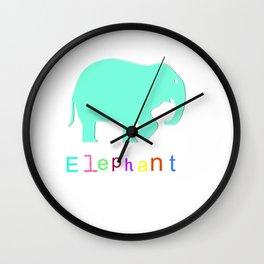 Elephant- Wall Clock