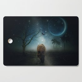 The Raven And The Wolf by GEN Z Cutting Board