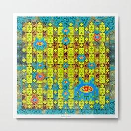DMT Spaceinvaders Metal Print