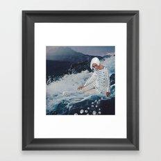 Diamonds (front) Framed Art Print