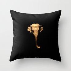 Elephant Trunk Throw Pillow