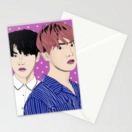 BTS J-Hope and Suga Stationery Cards