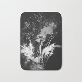 Seattle Space Needle Celebration Bath Mat