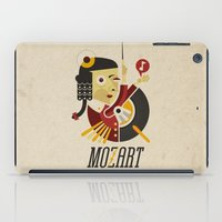 mozart iPad Cases featuring Mozart - Stereophonic Sound   by Chamuko