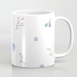 Pretty Little Floral Pattern Coffee Mug