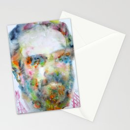 PHILIP K. DICK - watercolor portrait Stationery Cards