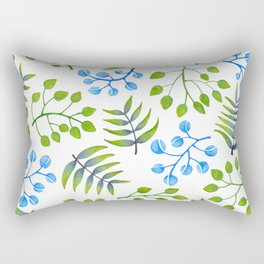 Leaves and more leaves Rectangular Pillow