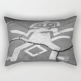 Sidewalk art Rectangular Pillow