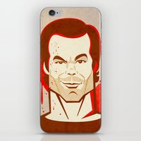 dexter iPhone & iPod Skins featuring Dexter by Martynas Juchnevicius