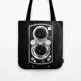 Vintage Camera Tote Bag