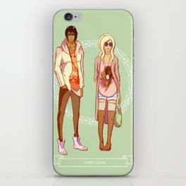 The Wastelands street fashion iPhone Skin
