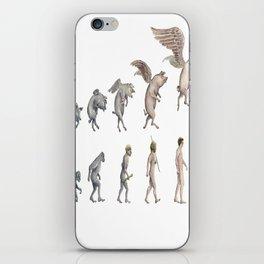 Darwin's Inspiration Mug iPhone Skin