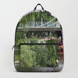 Boston Swan Boat Backpack