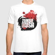 Zombie Rush - 2012 MEDIUM White Mens Fitted Tee