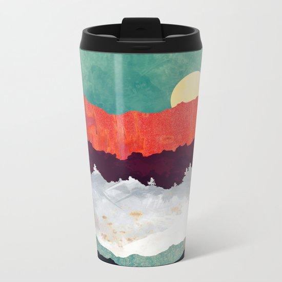 Spring Moon Metal Travel Mug