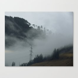 Swiss Fog II Canvas Print