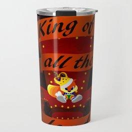 King of all the land Travel Mug