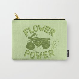 FLORAL FUEL Carry-All Pouch
