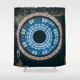Second and Seneca Shower Curtain