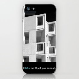 I Kahn not thank you enough.  iPhone Case