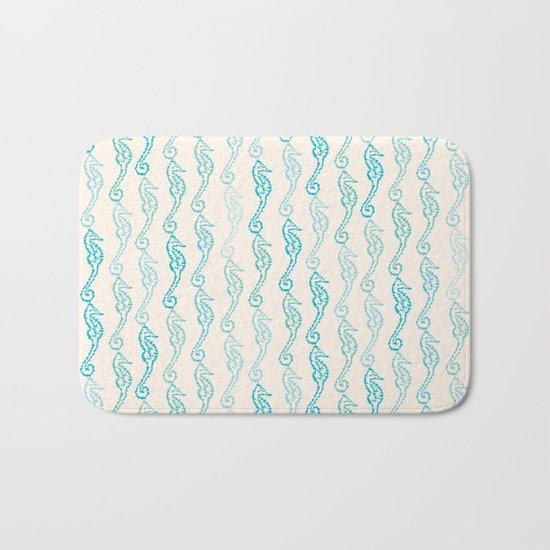 Pastel Marine Pattern 01 Bath Mat