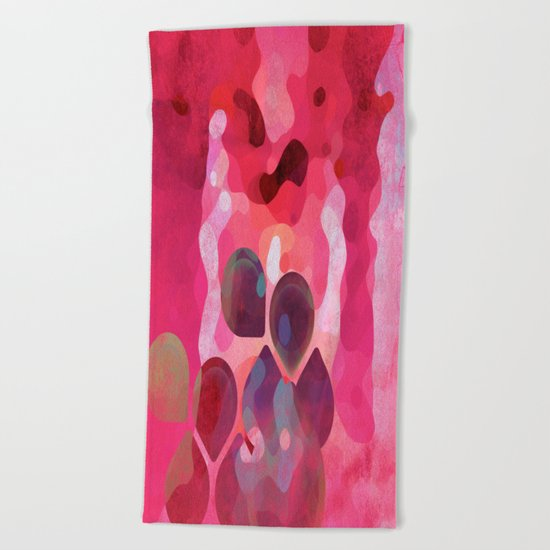 Drops of Passion Beach Towel