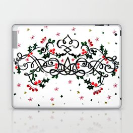 Christmas Plaq Laptop & iPad Skin