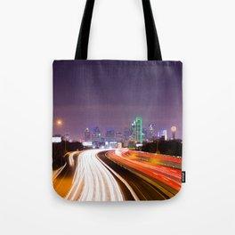The Road to Dallas Tote Bag