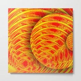 Spheretacular Metal Print
