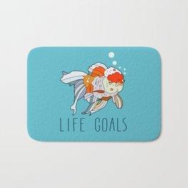 Life Goals Bath Mat