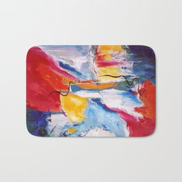 Come Down Isaiah 64 Christian Abstract Bath Mat