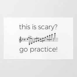 Go practice - clarinet Rug