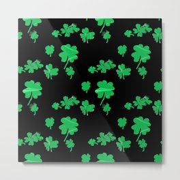 Irish Lucky Shamrock  Metal Print
