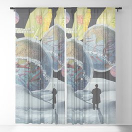 Parallel Universe Sheer Curtain
