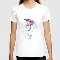 hummingbird T-shirts featuring Hummingbird by Alexis Marcou