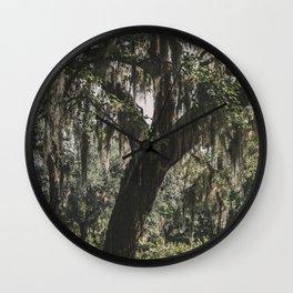 Savannah Spanish Moss Wall Clock