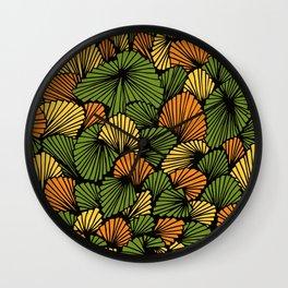 Happy abstract: Jungle Nr:01 Wall Clock