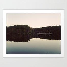 still lake Art Print