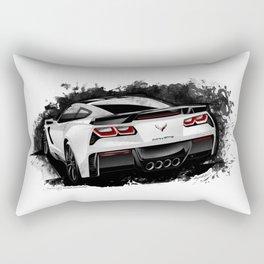 Chevrolet Corvette Stingray Z06 (C7) Rectangular Pillow