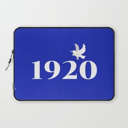 1920 Blue Dove Laptop Sleeve