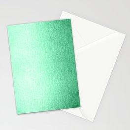 Mint Meringue Shimmer Stationery Cards