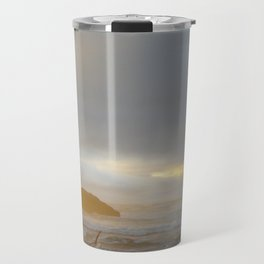 Moonstone Beach at Sunset v.2 Travel Mug