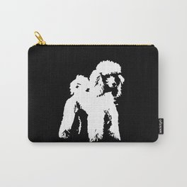 PET POODLE DOG Carry-All Pouch