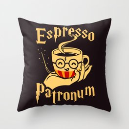 Espresso Patronum Throw Pillow
